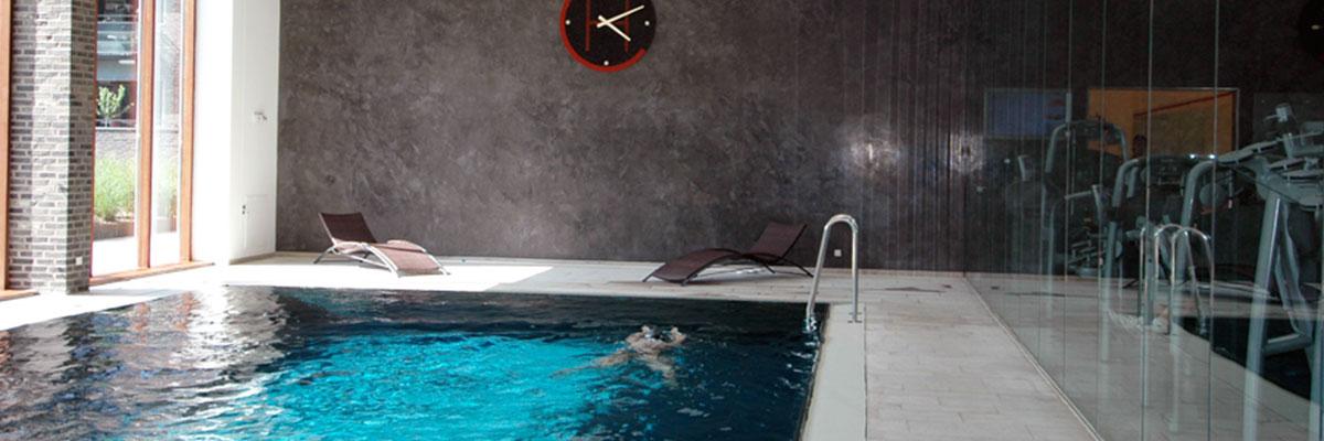 Ytskikt av betong till pool